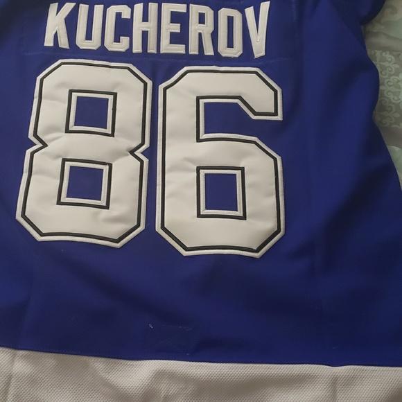online store dc378 4d9fd Tampa Bay Lightning Nikita Kucherov Jersey